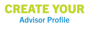 Create your advisor profile here.